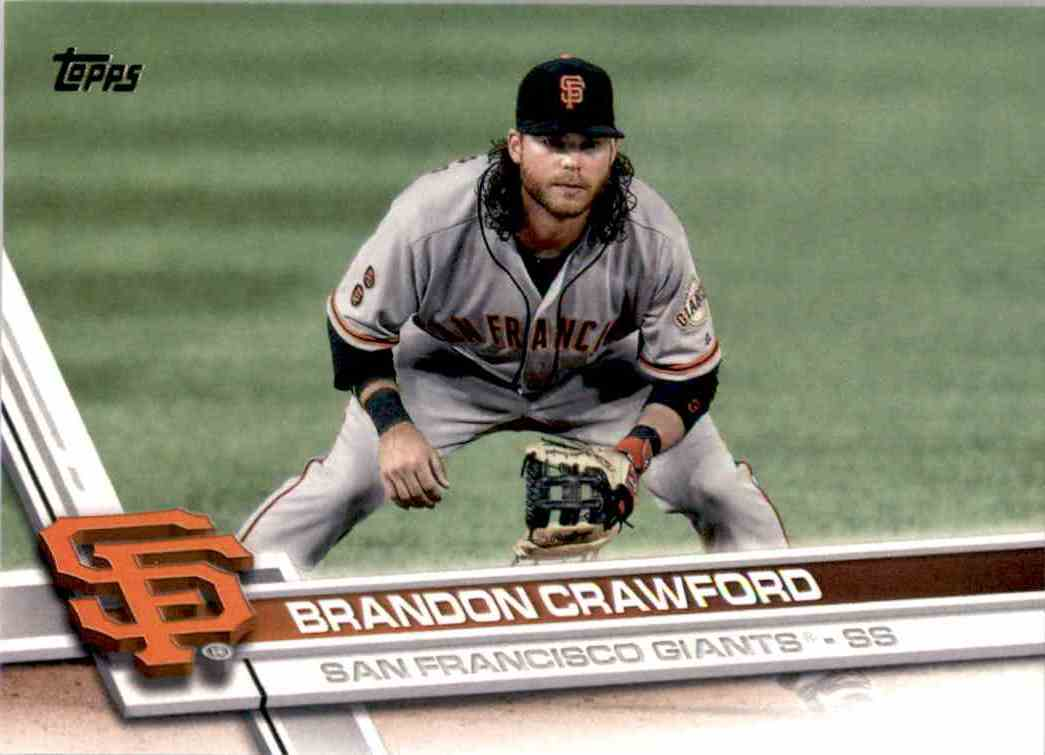 2017 Topps Brandon Crawford #106 card front image