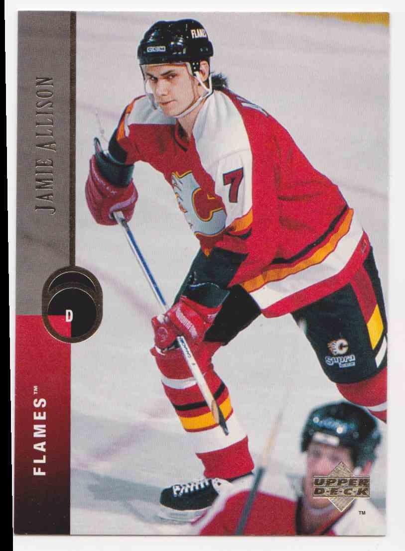 1994-95 Upper Deck Jamie Allison #464 card front image