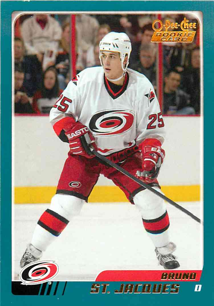 2003-04 Topps O-Pee-Chee Brund St.Jacques #306 card front image