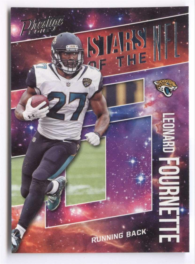 2018 Panini Prestige Stars Of The NFL Leonard Fournette #ST-LF card front image