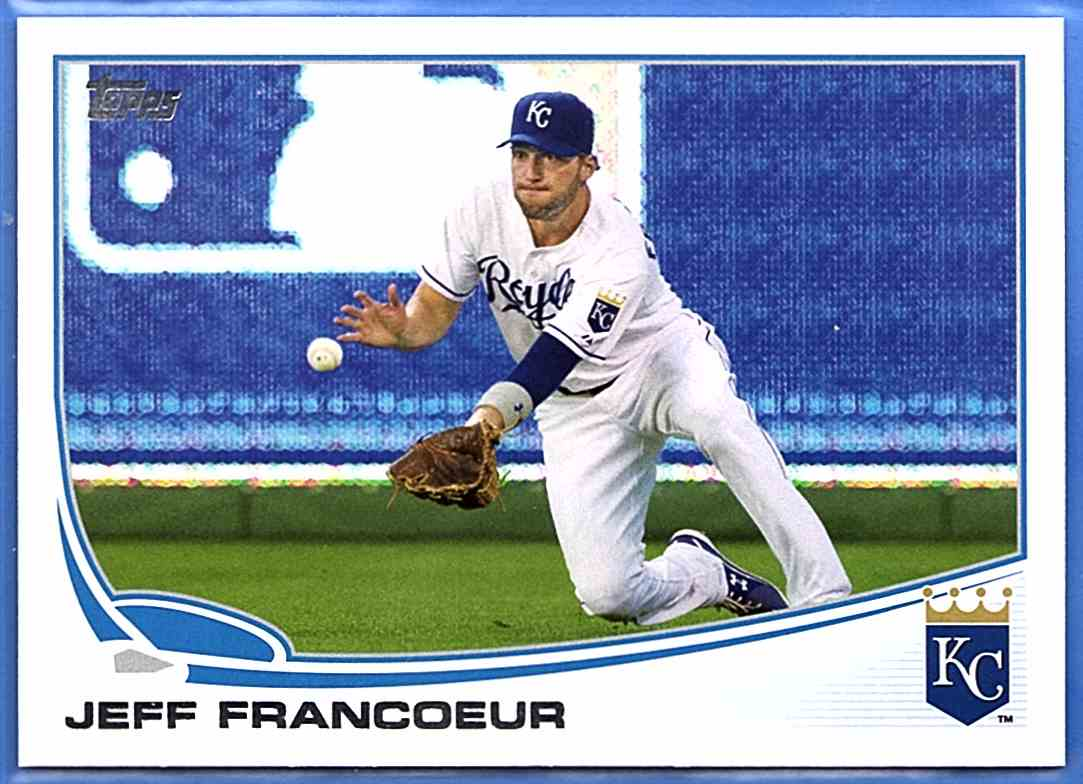 2013 Topps Jeff Francoeur #470 card front image