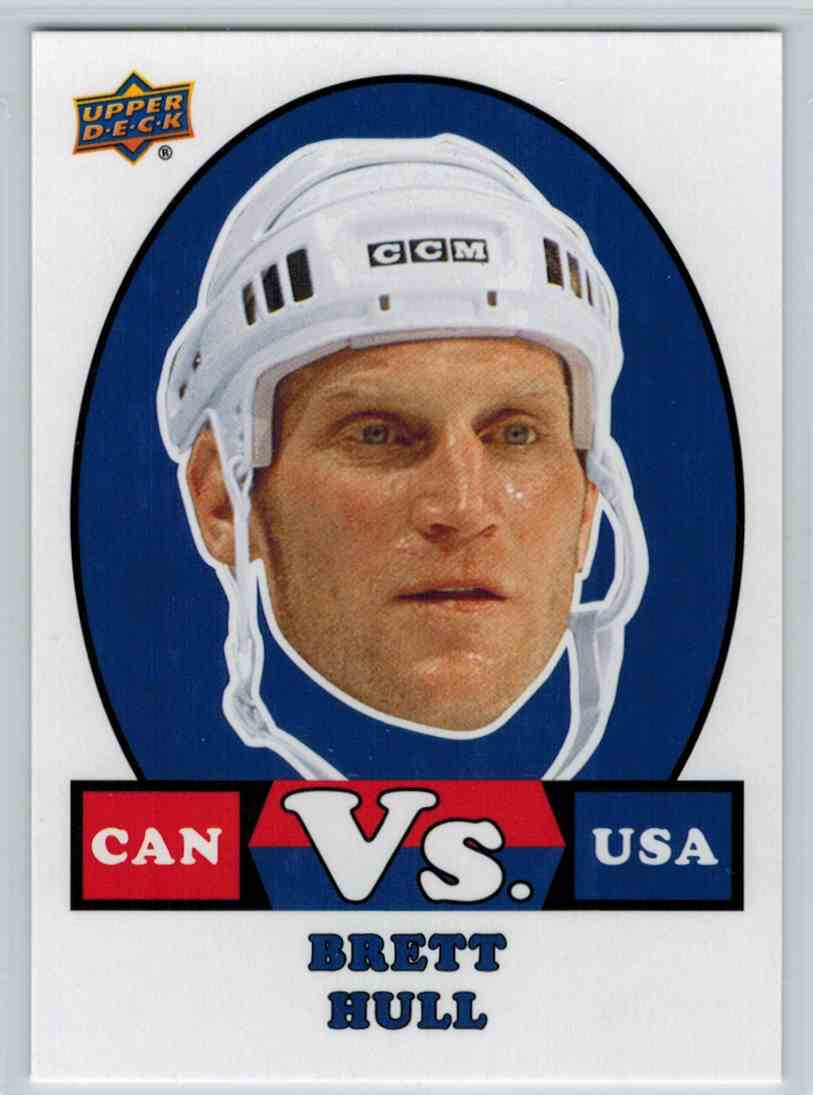 2017 18 Upper Deck Team Canada Hockey Vs Brett Hull Vs