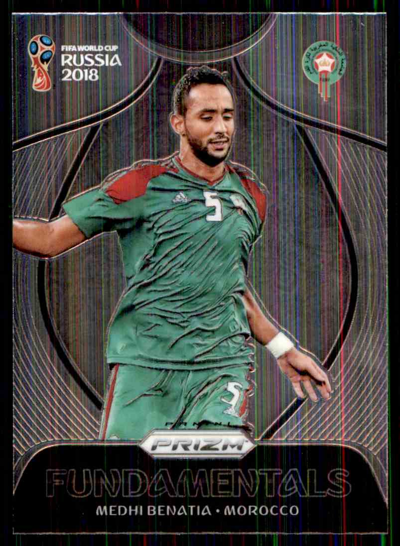 2018 Panini Prizm World Cup Fundamentals Medhi Benatia #23 card front image