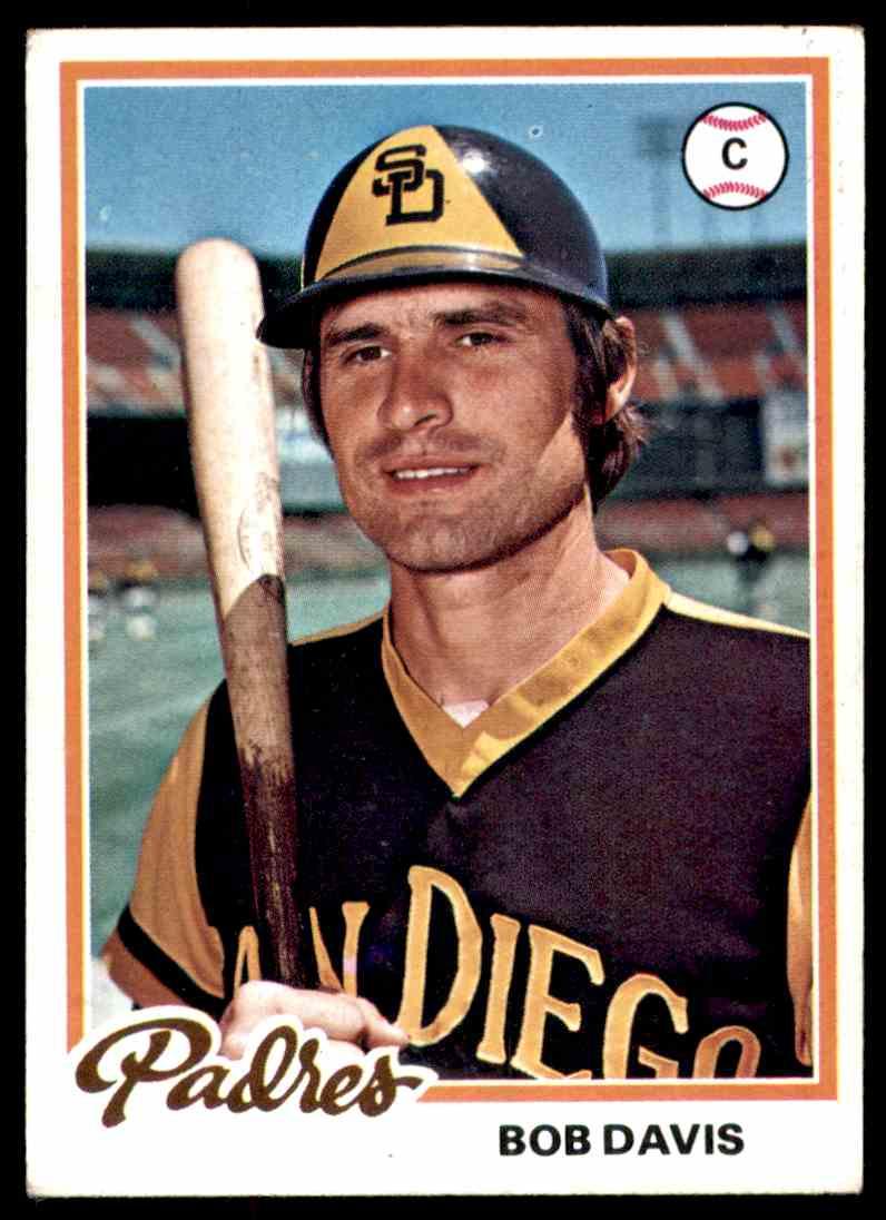 1978 Topps Bob Davis #713 card front image