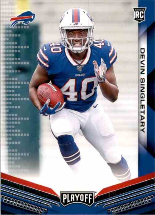 2019 Playoff Devin Singletary RC #237 card front image