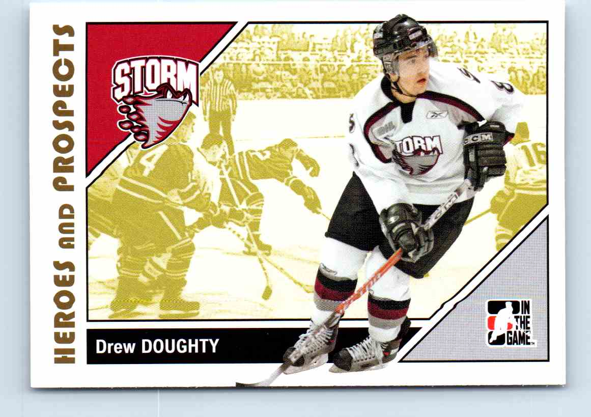 2007-08 Itg Heroes And Prospects Drew Doughty #81 card front image