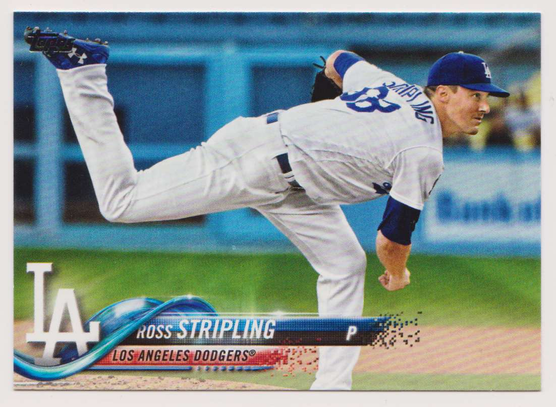 2018 Topps Update Series Ross Stripling #US280 card front image