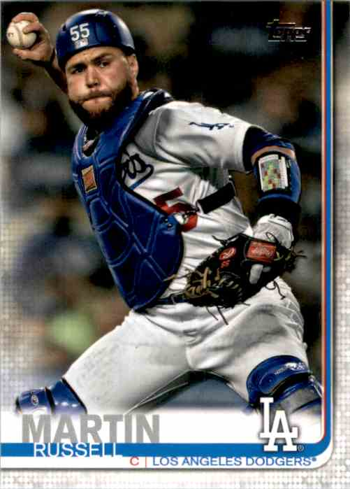 2019 Topps Update Russell Martin #US41 card front image