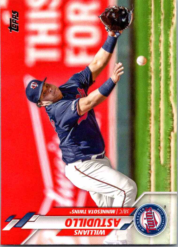 2020 Topps Series Two Willians Astudillo #502 card front image