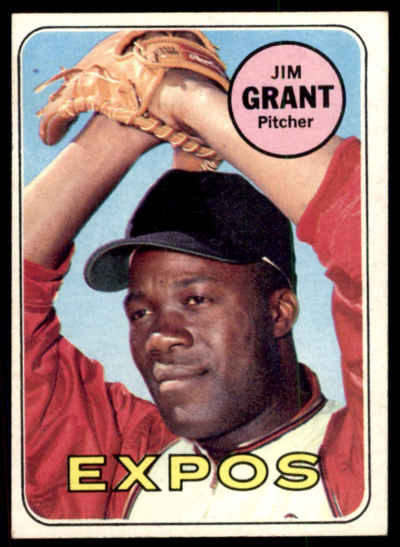 1969 Topps Jim Grant #306 card front image