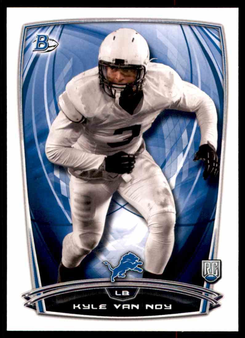 2014 Bowman Kyle Van Noy #2 card front image