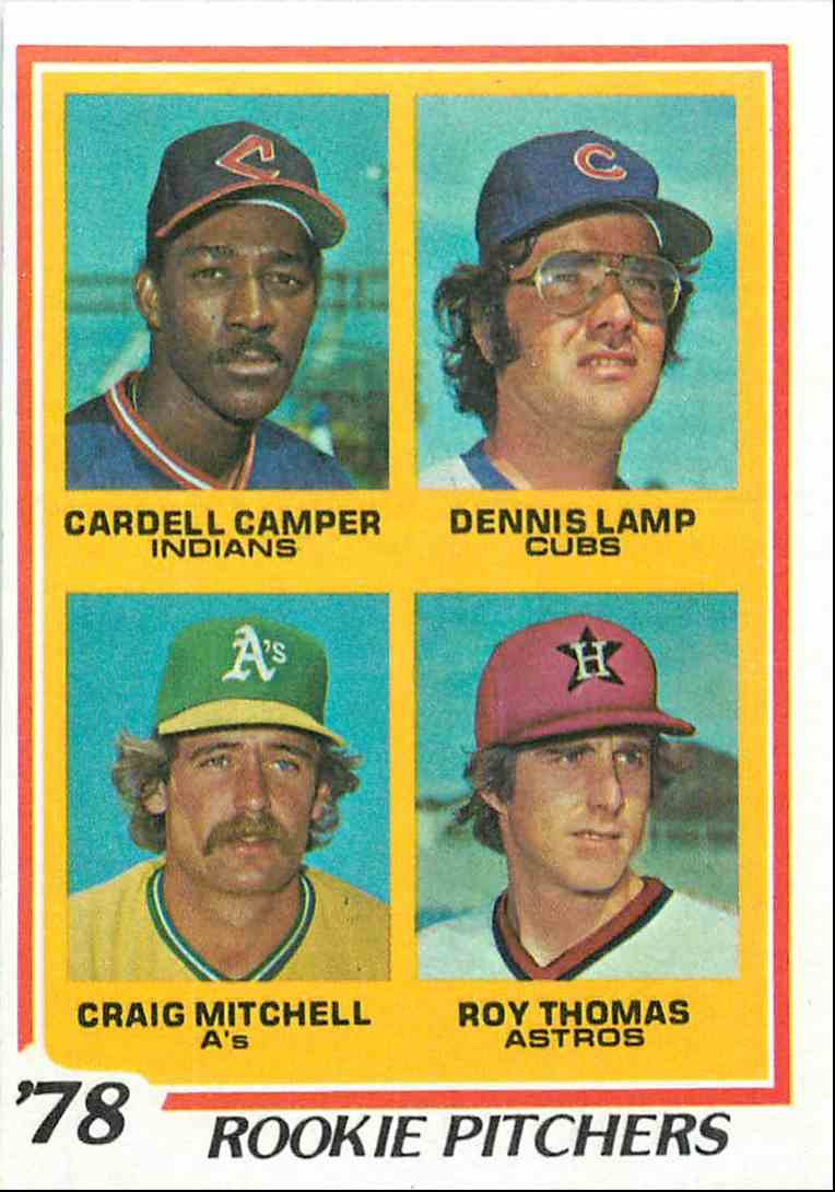 1978 Topps Rookie Pitchers 711 On Kronozio