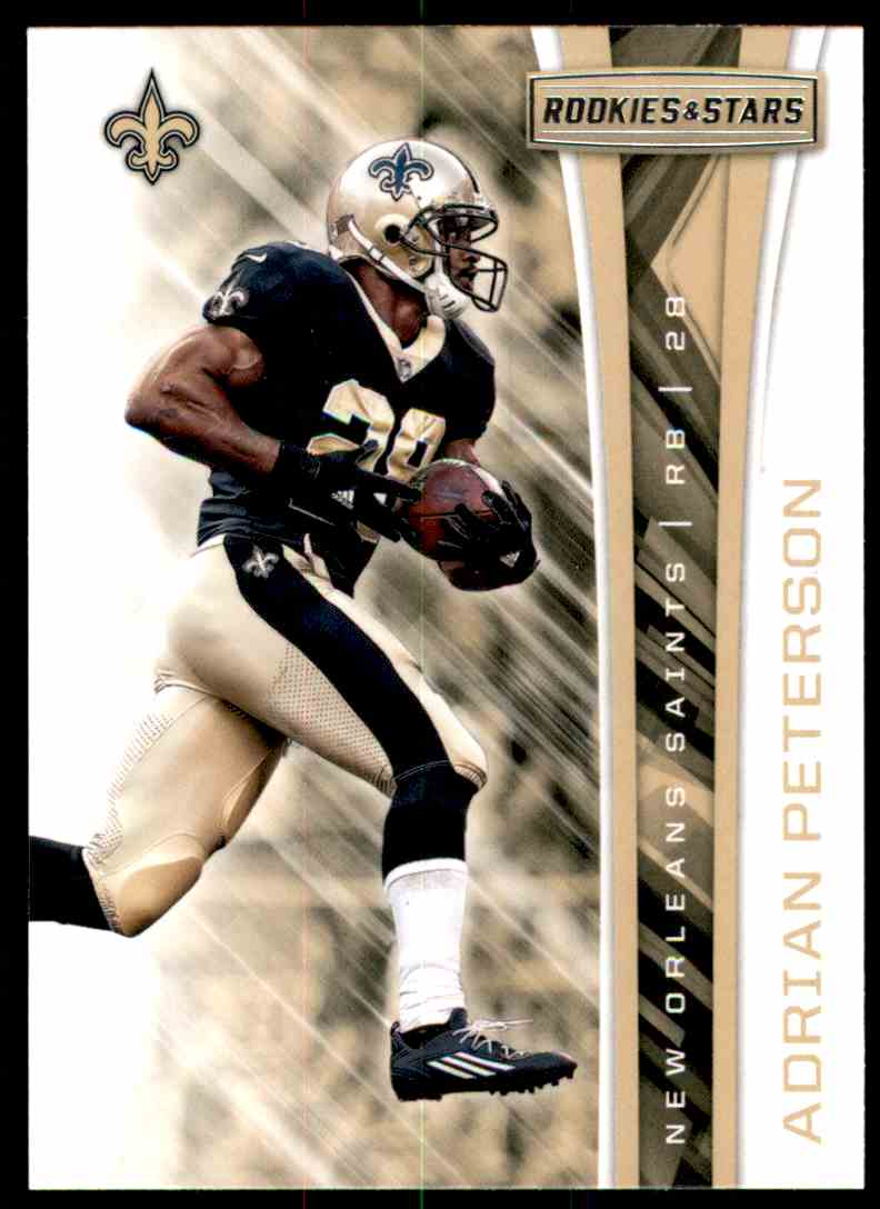 2017 Rookies And Stars Adrian Peterson #178 card front image