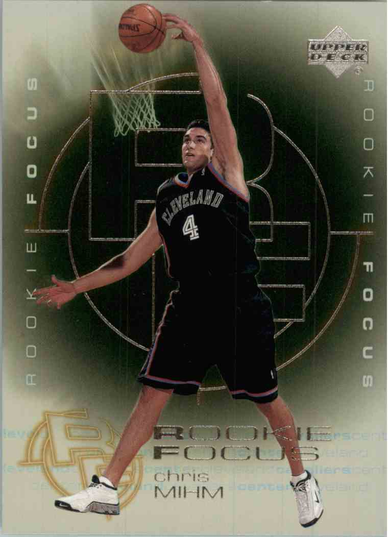 2001-02 Upper Deck Chris Mihm #RF9 card front image