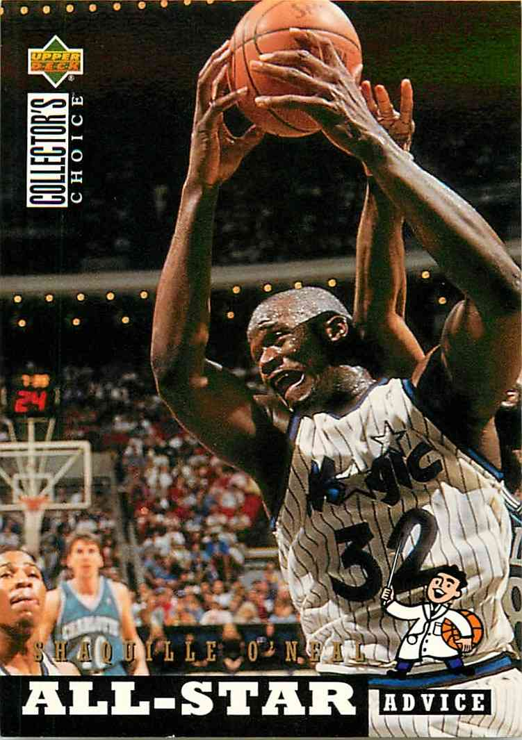 1994-95 Upper Deck Collectors Choice Shaquille O'neal #197 card front image