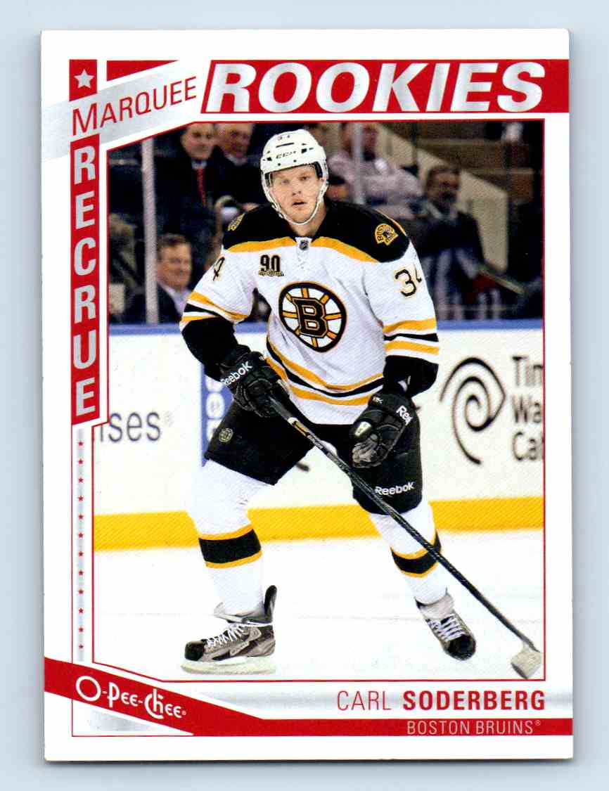 2013-14 O-Pee-Chee Marquee Rookies Carl Soderberg #621 card front image