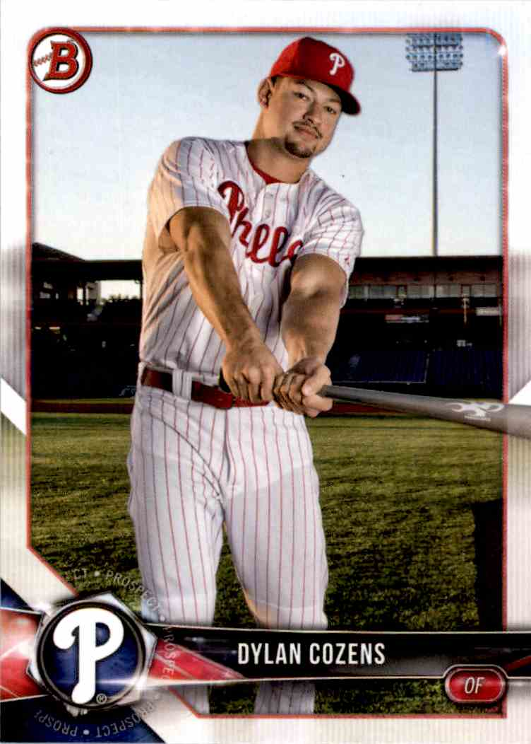2018 Bowman Dylan Cozens #BP63 card front image