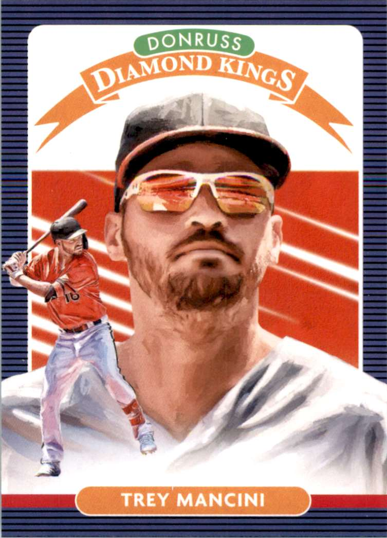 2020 Donruss Trey Mancini Dk #17 card front image