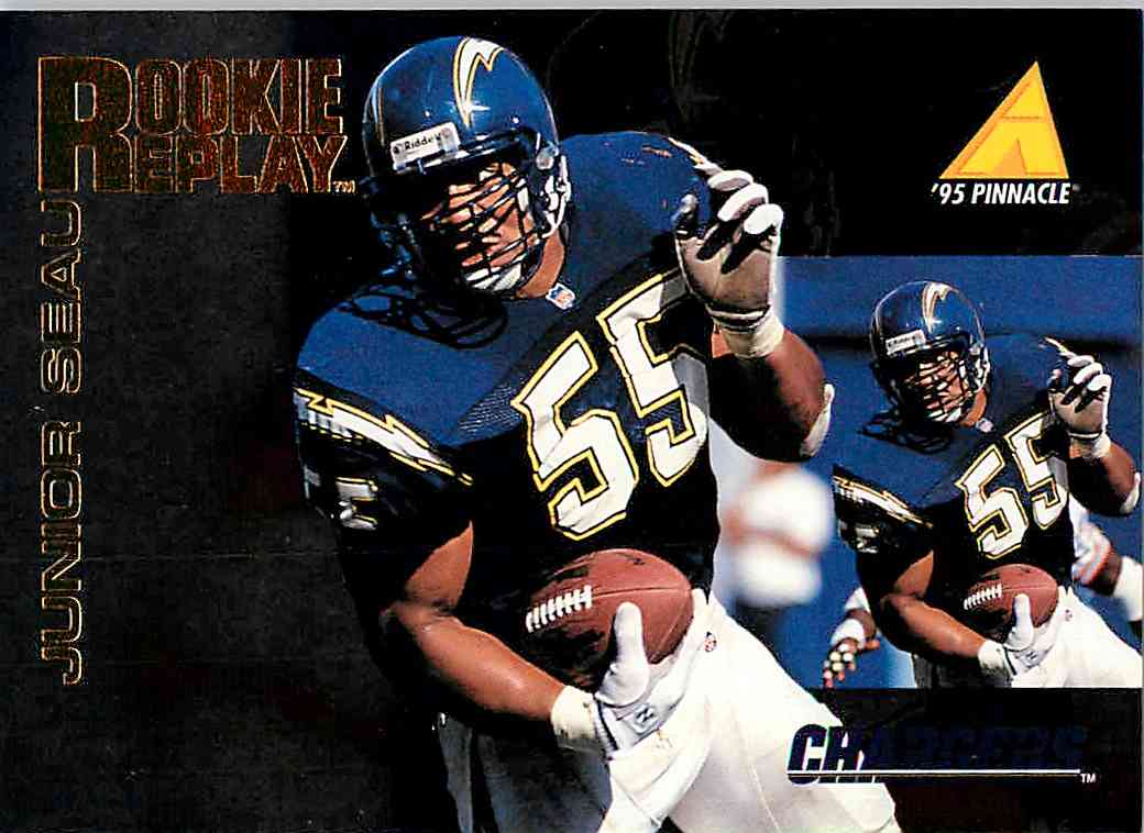 1995 Pinnacle Club Collection Junior Seau #224 card front image