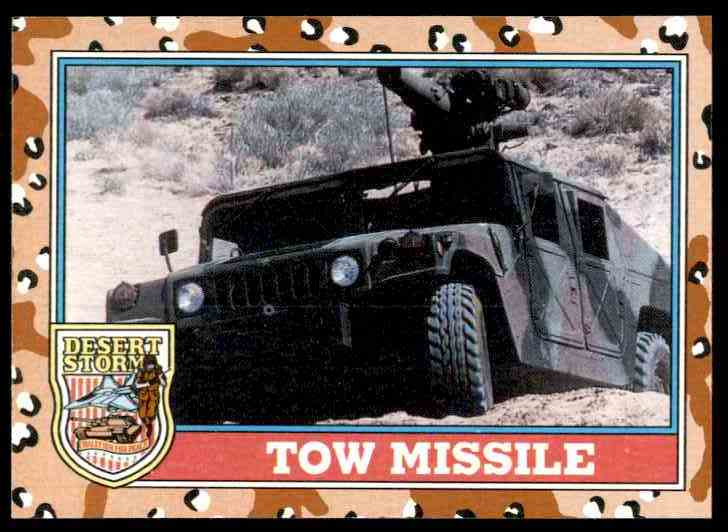1991 Desert Storm Topps Tow Missile #98 card front image