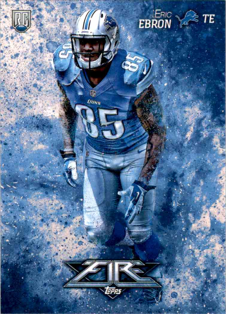 2014 Topps Fire Eric Ebron RC #149 card front image