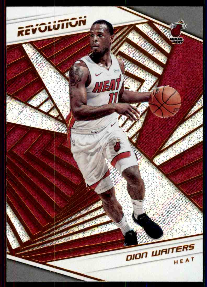 2018-19 Panini Revolution Base Dion Waiters #21 card front image
