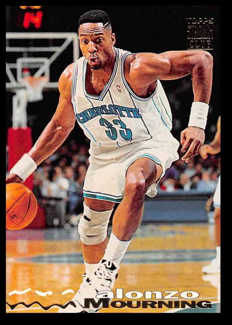 1993 94 Topps Stadium Club Alonzo Mourning 292 On