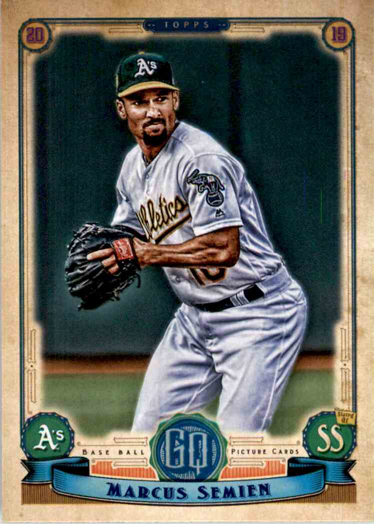 2019 Topps Gypsy Queen Marcus Semien #201 card front image