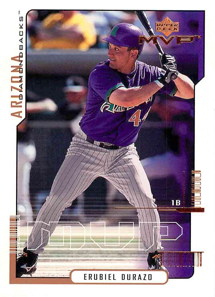 2000 Upper Deck Mvp Erubiel Durazo #59 card front image