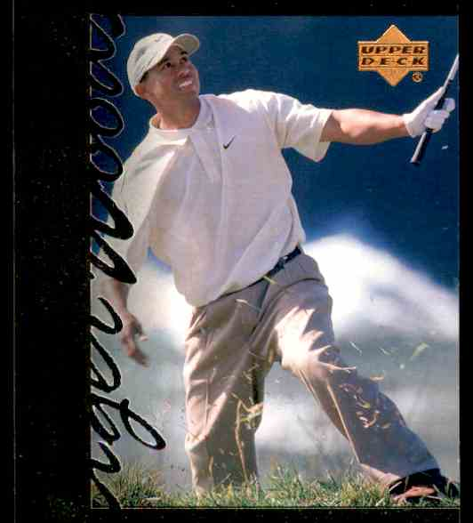 2001 Upper Deck Tiger Woods #TT29 card front image