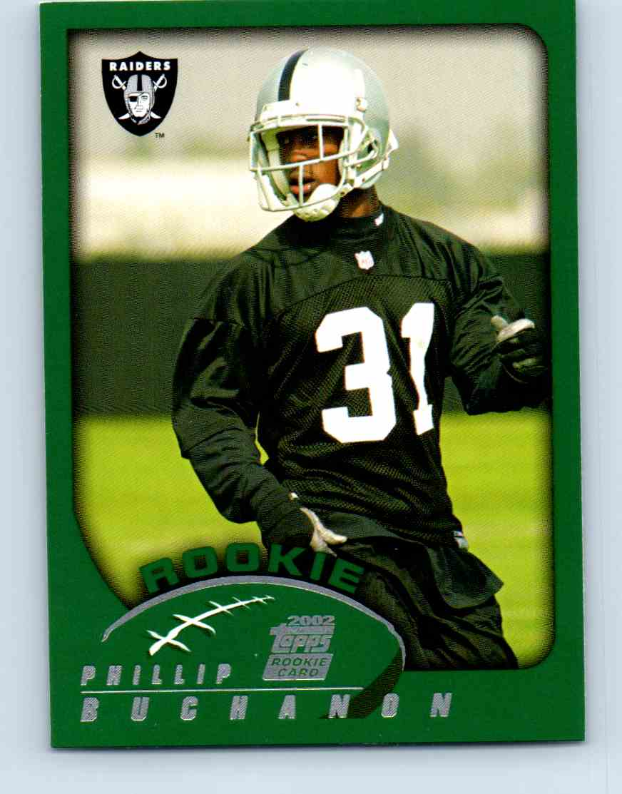 2002 Topps Phillip Buchanon #372 card front image