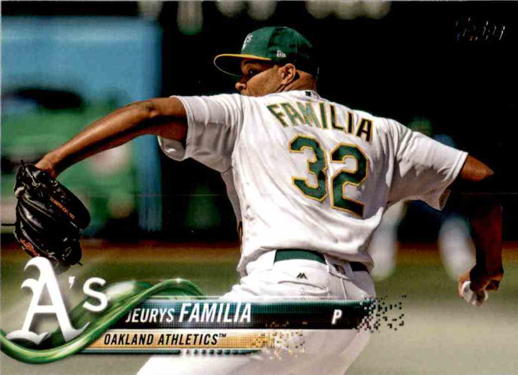 2018 Topps Update Jeurys Familia #US20 card front image