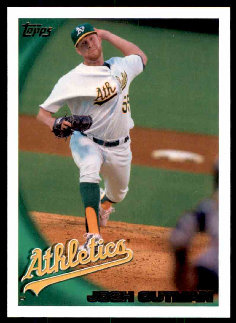 2010 Topps Josh Outman #611 card front image
