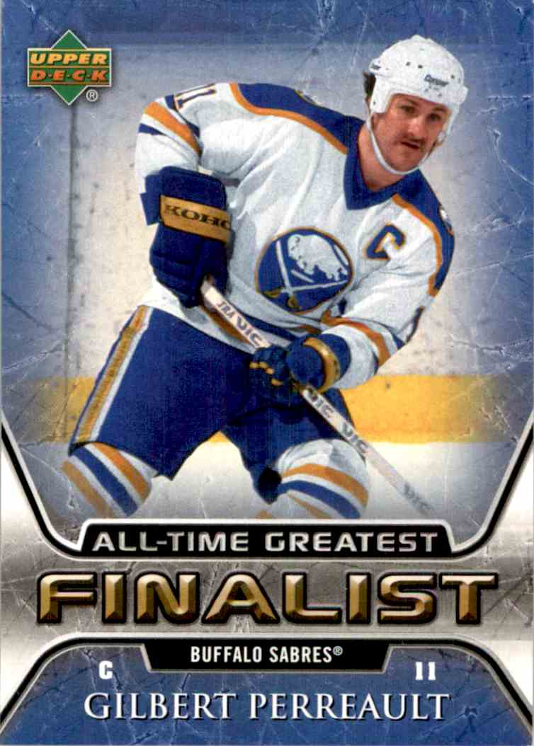 2005-06 Upper Deck All Time Greatest Gilbert Perreault #8 card front image