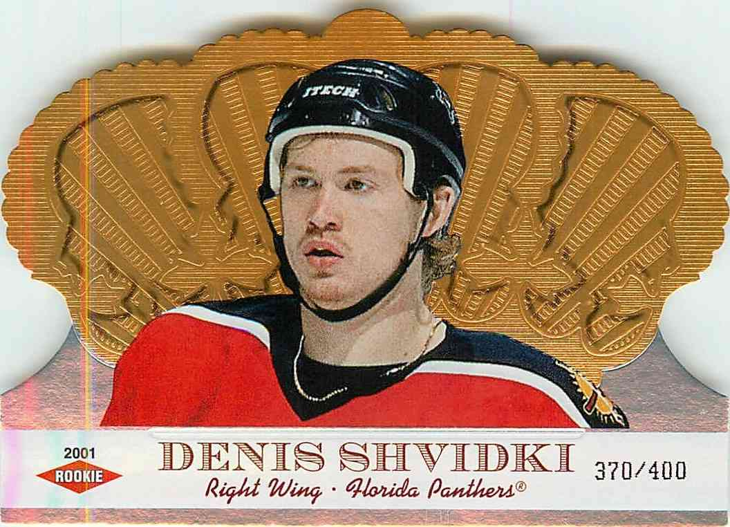 2001-02 Pacific Crown Royale Denis Shvidki #125 card front image