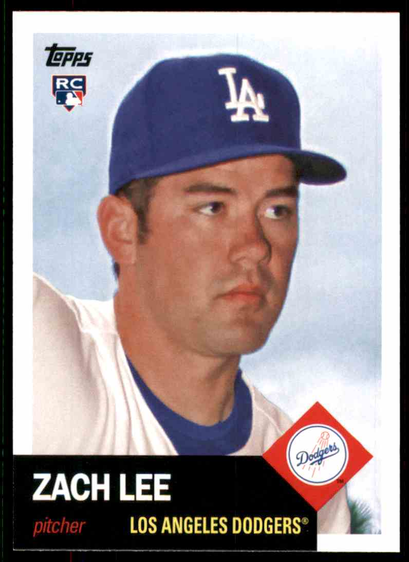 2016 Topps Archives Zach Lee RC #93 card front image