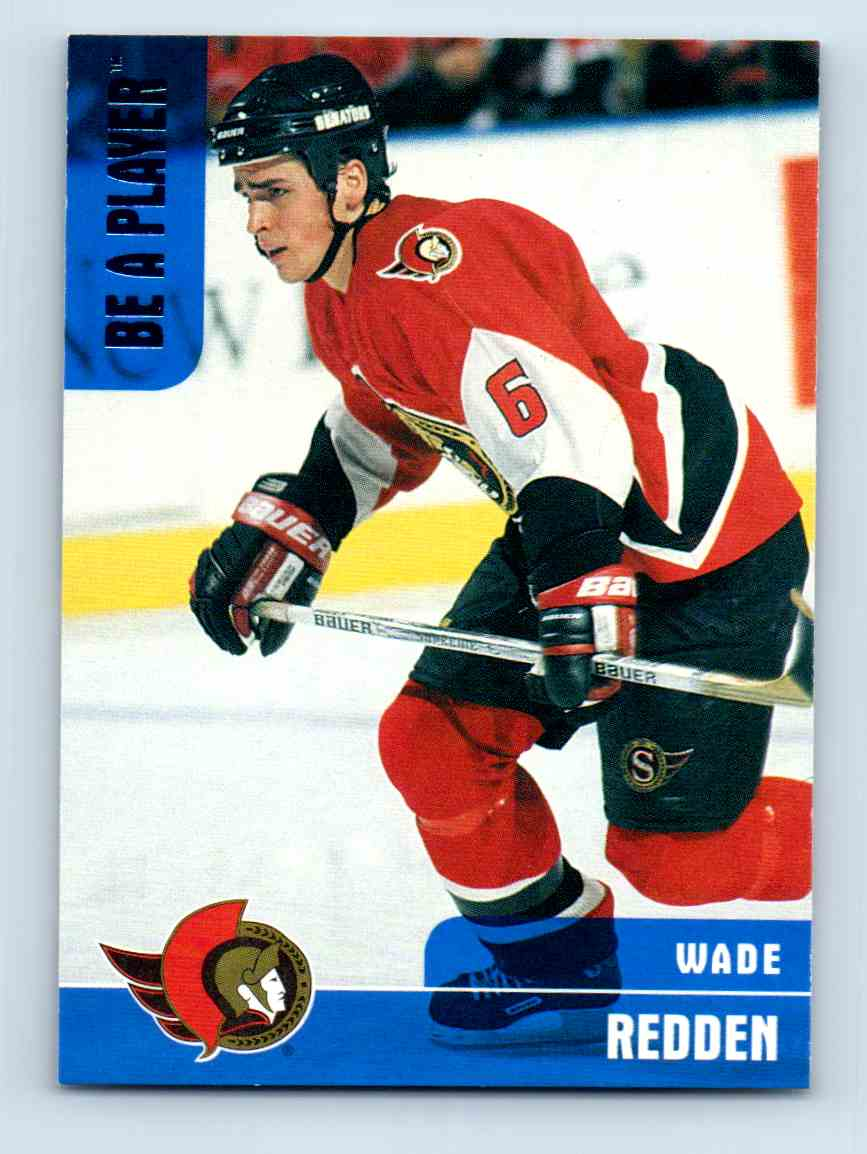 1999-00 Be A Player Wade Redden #105 card front image