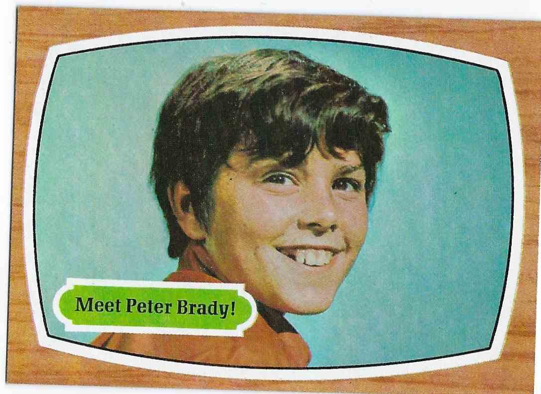 1971 Topps Brady Bunch Meet Peter Brady! #69 card front image
