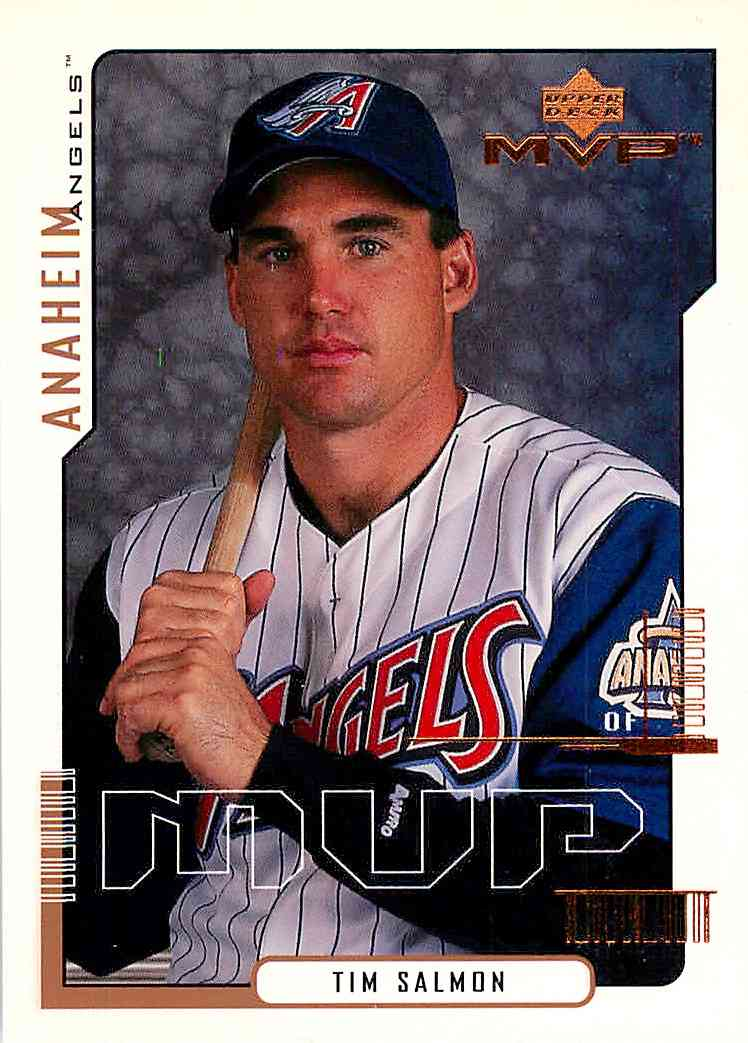 2000 Upper Deck Mvp Tim Salmon #3 card front image