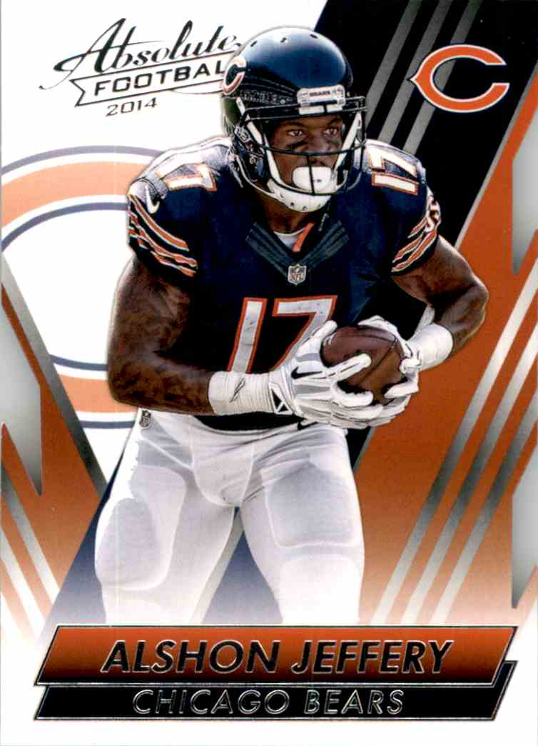2014 Absolute Retail Alshon Jeffery #65 card front image