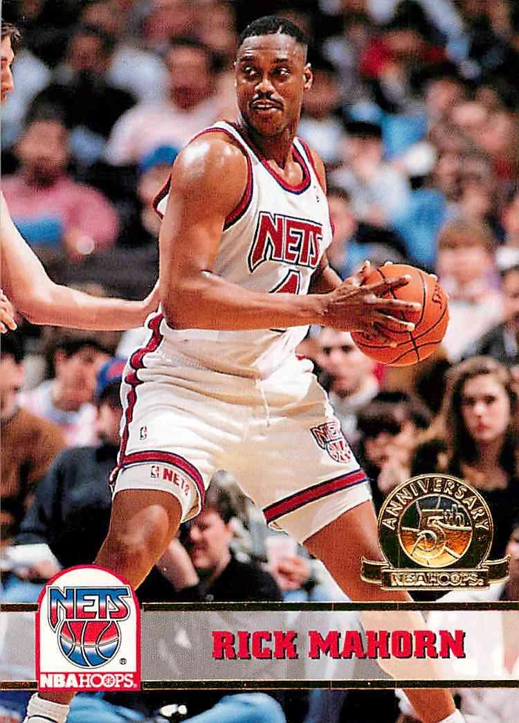 1993-94 Hoops Rick Mahorn #372 card front image