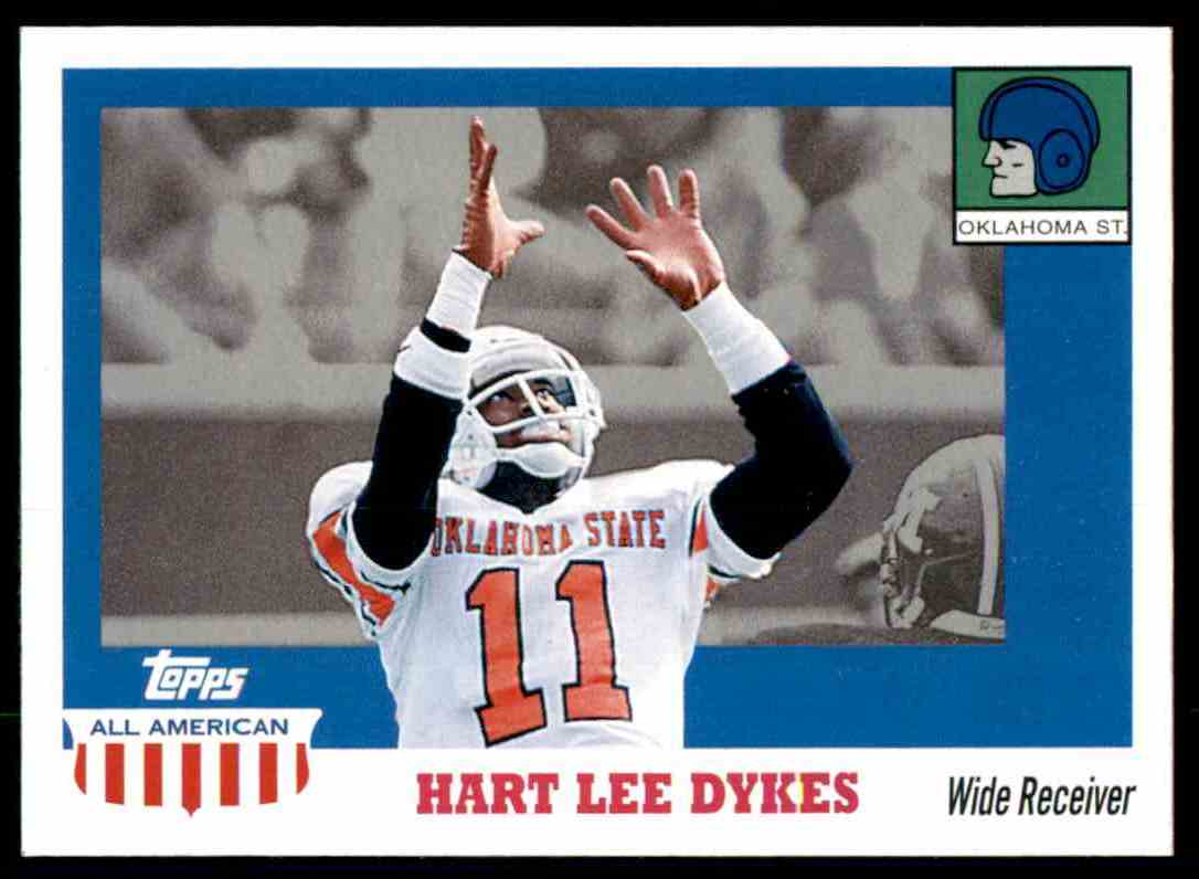 2005 Topps All American Hart Lee Dykes #73 card front image