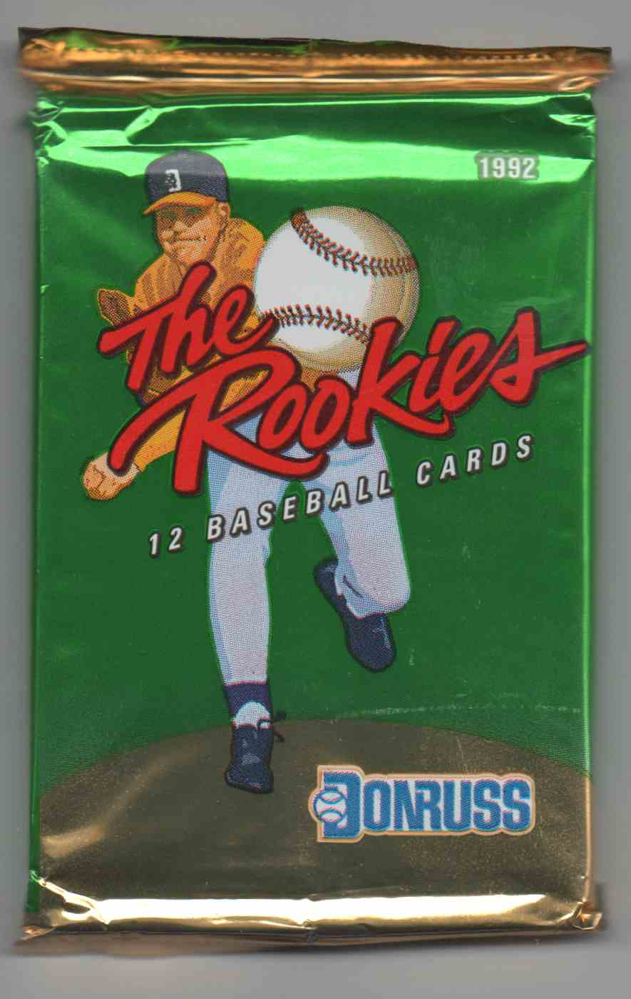 1992 Donruss The Rookies Unopened Pack #12 card front image