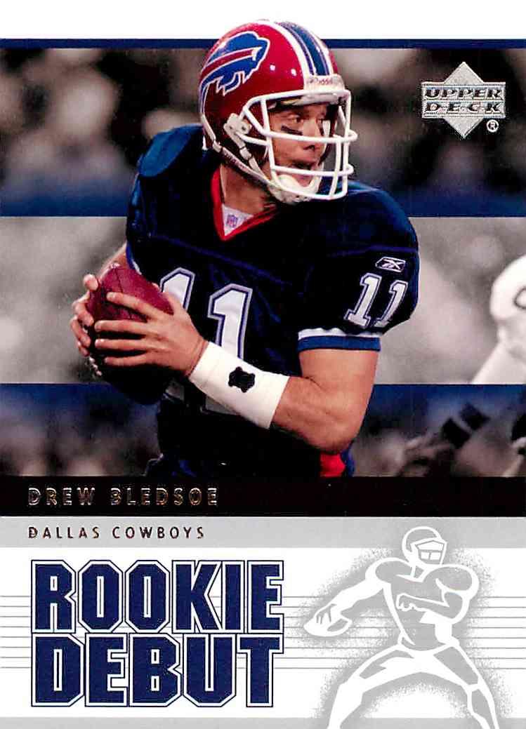 2005 Nfl Rookie Debut Drew Bledsoe #25 card front image