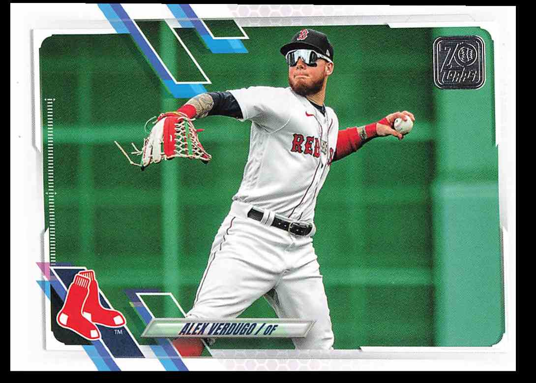 2021 Topps Series 1 Alex Verdugo #214 card front image