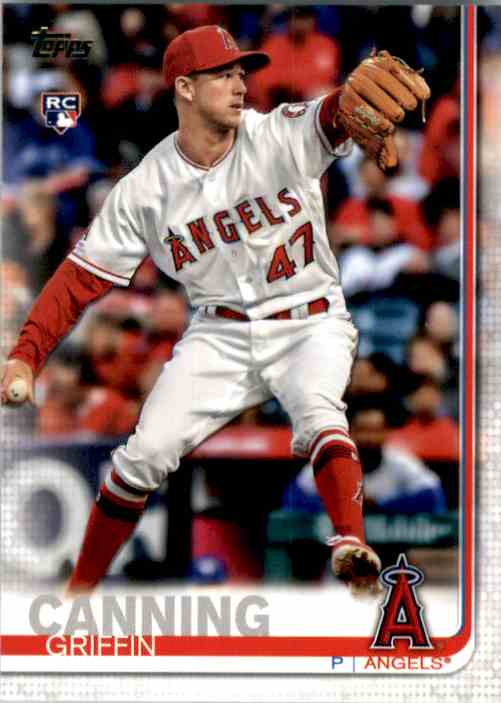 2019 Topps Update Griffin Canning RC #US200 card front image