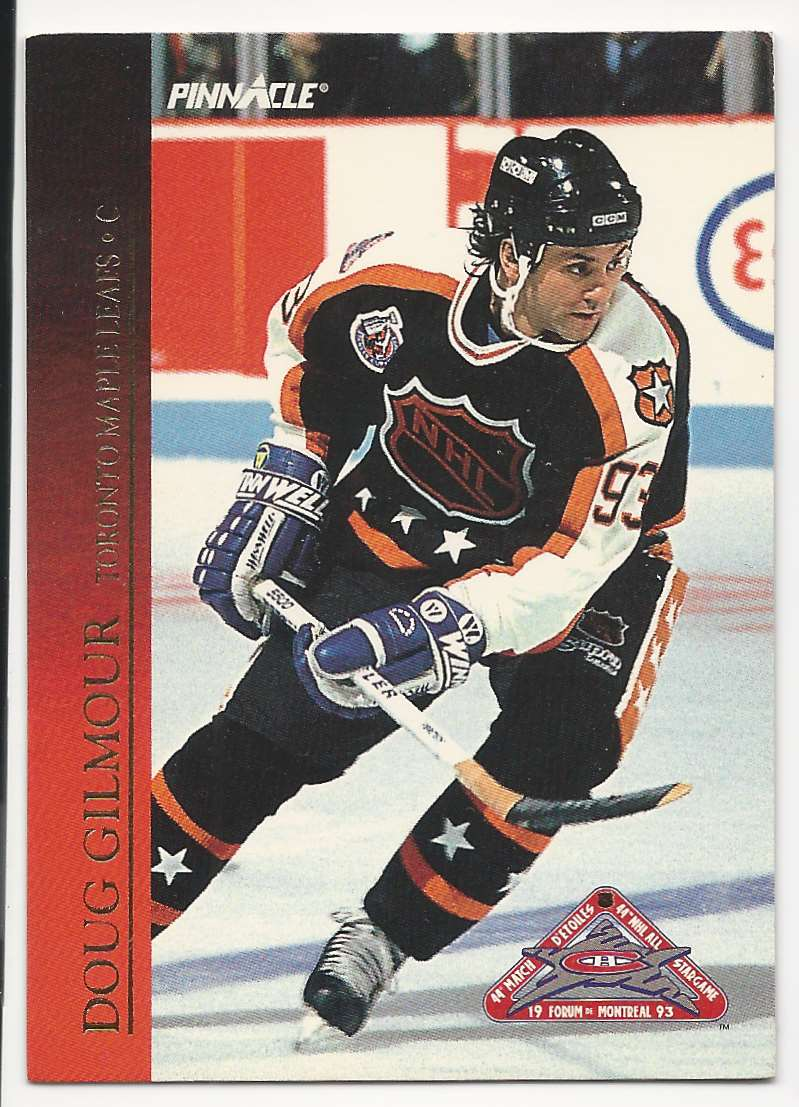 1993-94 Pinnacle All-Stars Doug Gilmour #44 card front image
