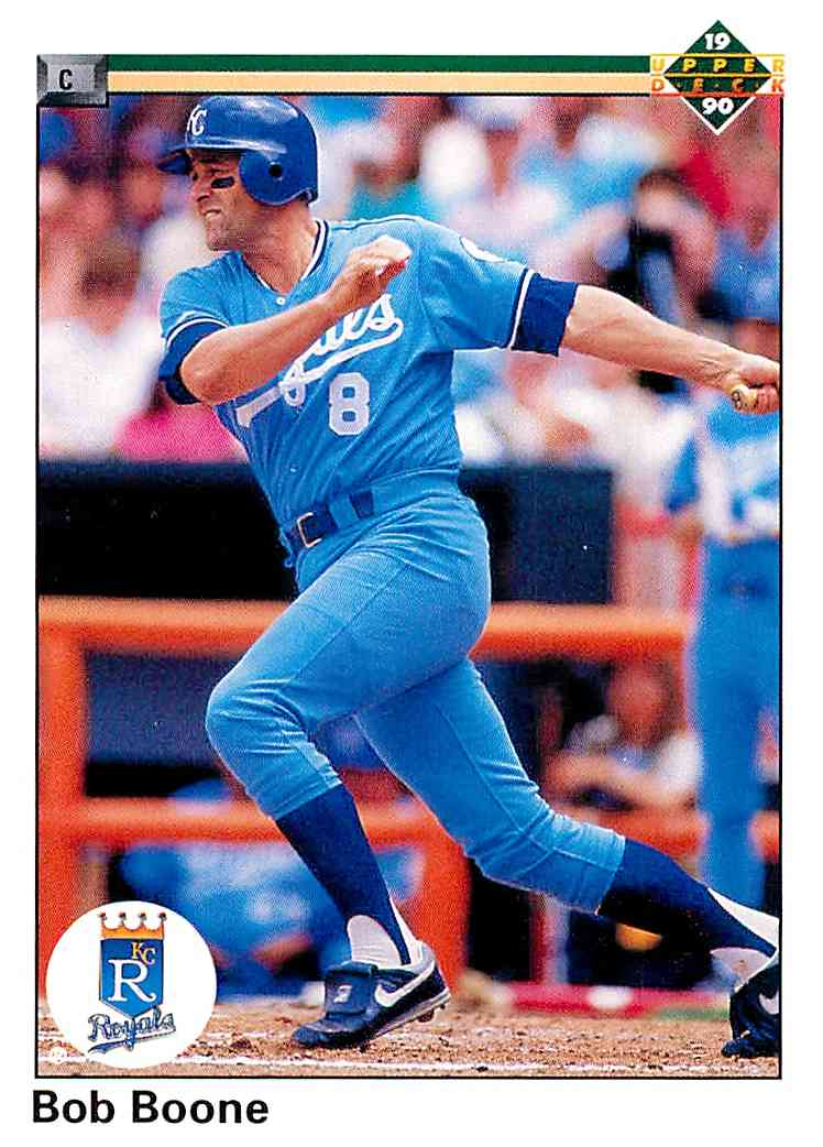 1990 Upper Deck Bob Boone #271 card front image