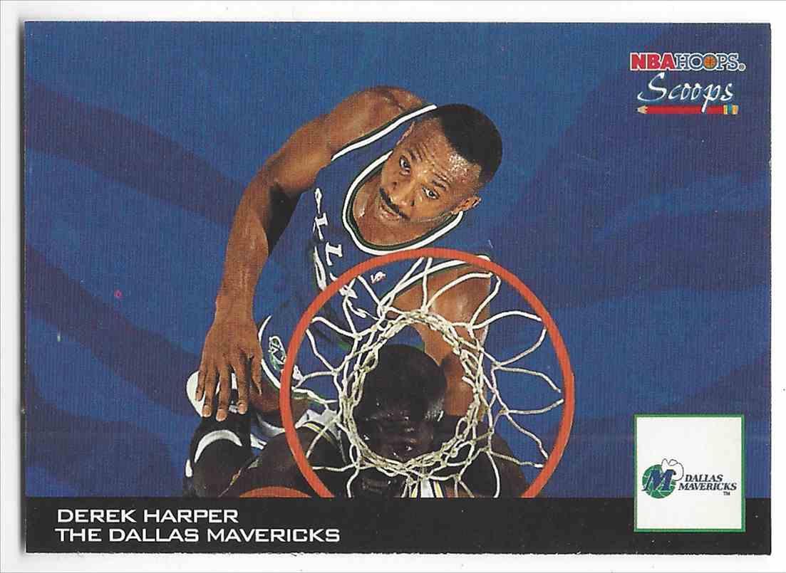 1993 94 NBA Hoops Scoops Derek Harper HS6 on Kronozio