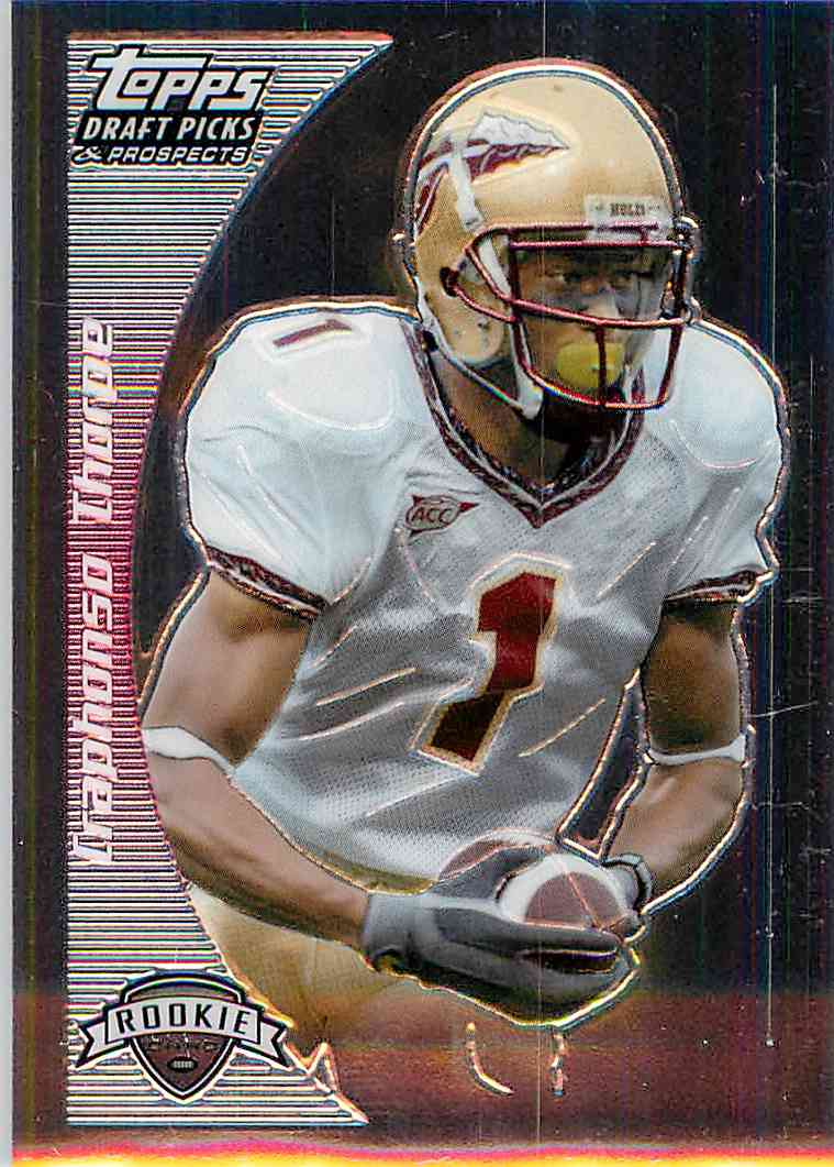 2005 Topps Draft Picks Craphonso Thorpe #127 card front image